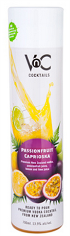 Vnc Cocktails Passion Fruit Caprioska